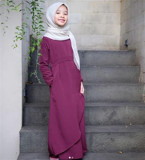 Baju Gamis Muslimah Anak 35 gambar model baju muslim anak perempuan terbaru 2018