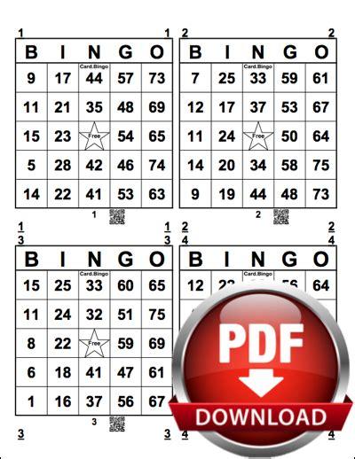 printable number bingo cards 1 75 print bingo cards bingo card generator