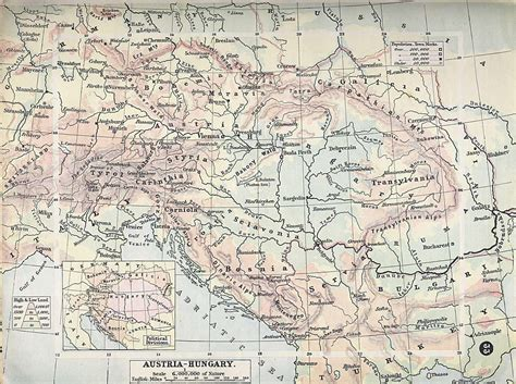 map of austria 1900 map of austria hungary 1900 size