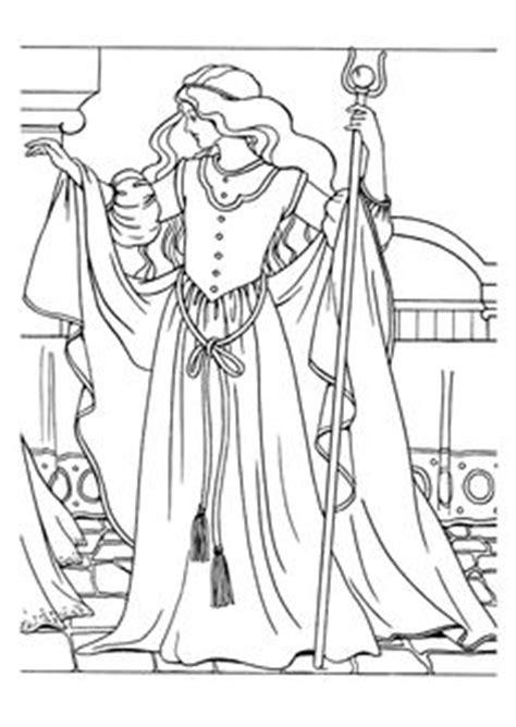 Princesse Léonora se réveille | Coloriage et dessin