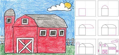scheune zeichnen barn composite post jpg 1500 215 701 landscape lessons