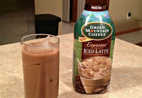 Green Coffee Latte green mountain coffee introduces espresso iced lattes