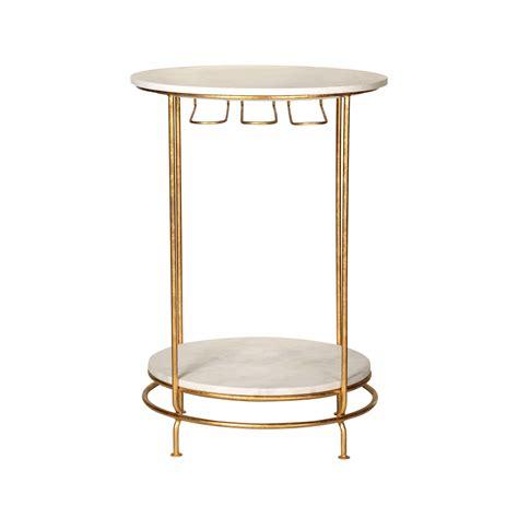 Marble Bar Table Gold Luxe Bar Table Oliver Bonas