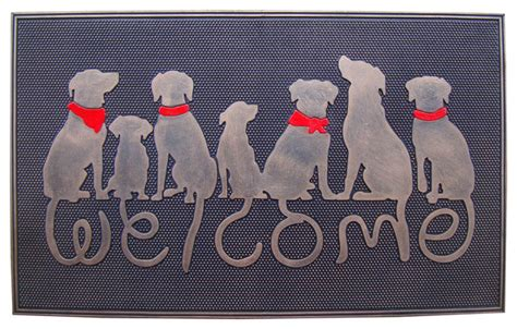 welcome rubber st welcome rubber doormat contemporary doormats by a1