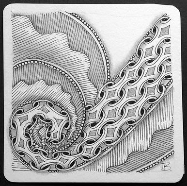 zentangle pattern meer 17 best images about tangles n b monochrome on pinterest