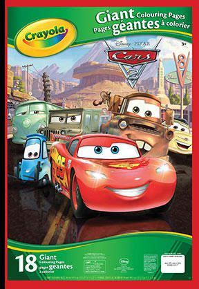 crayola coloring pages cars 2 crayola cars colouring pages walmart canada