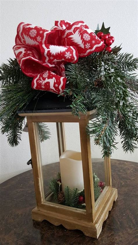 holiday lantern christmas decorations by thevibranthome on