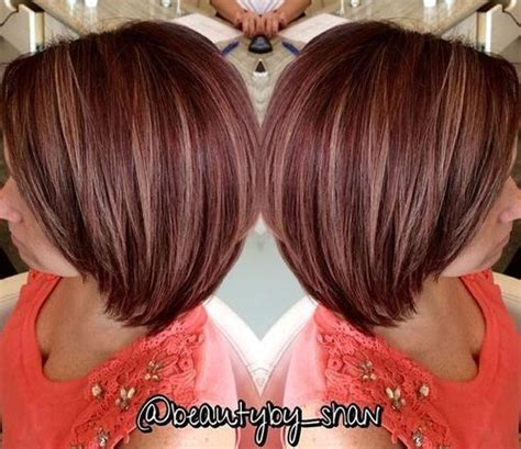 caramel and burgandy highlights on older ladies hair 25 best ideas about plum red hair on pinterest burgundy