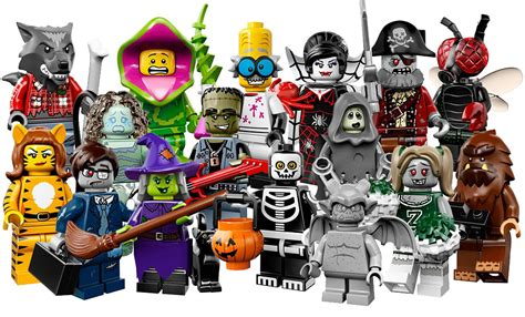 Lego Minifigure Seri 14 Square Foot lego minifigures series 14 monsters guide zhar apps