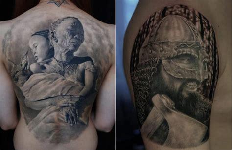 photorealistic tattoo 10 amazing photo realistic skin illustrations bit rebels