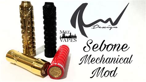 mechanical design indonesia sebone pyra mechanical mods by rnv designs mike vapes