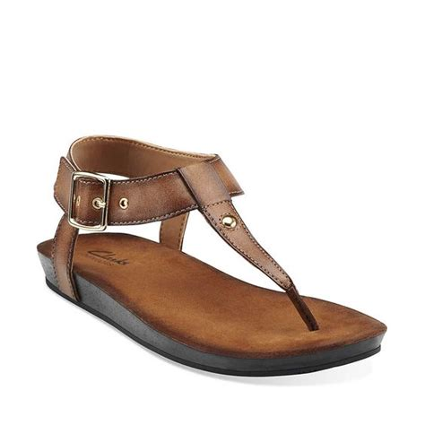 clarks walking sandals traditional honey and on