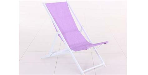 chaise longue hesperide 3770 chaise longue chilienne en texaline pliante veracruz