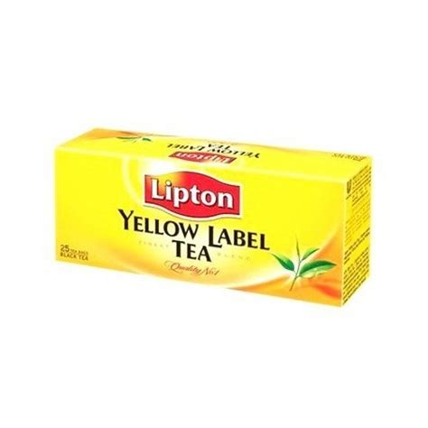 Teh Lipton Yellow Label Tea lipton yellow label 25 tea bags from supermart ae