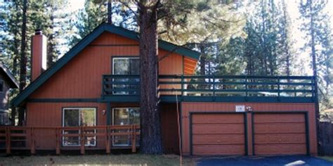 Lake Tahoe Cabin Rentals Cheap by Tahoe Vista Vacation Rentals