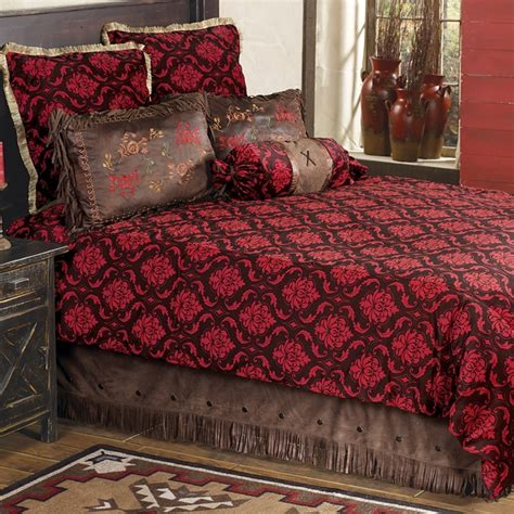 red damask comforter red damask bedding collection for the home pinterest