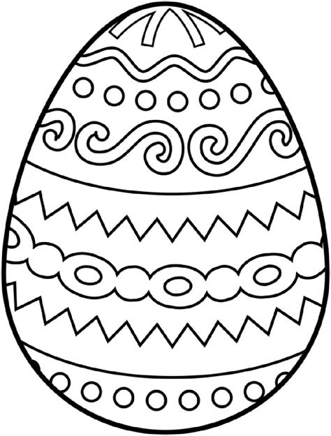 egg design coloring page blank easter egg templates activity shelter