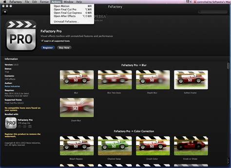 final cut pro trial limitations download fxfactory pro mac 7 0 1 build 5542