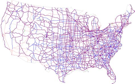 map usa routes map us highways