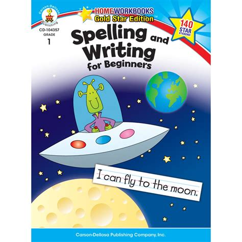 Spelling And Writing For Beginners Home Workbook By Carson