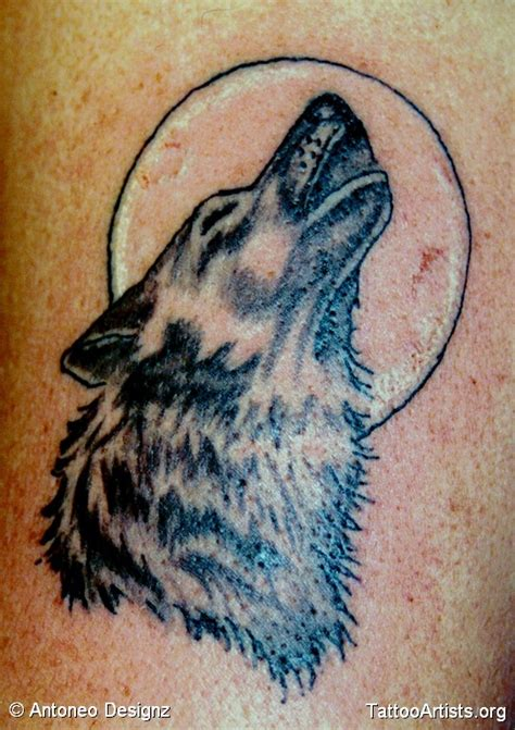 howling wolf tattoo designs howling wolf design www imgkid the image