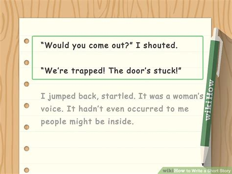 themes of the short story girl how to write a short story with sle stories wikihow