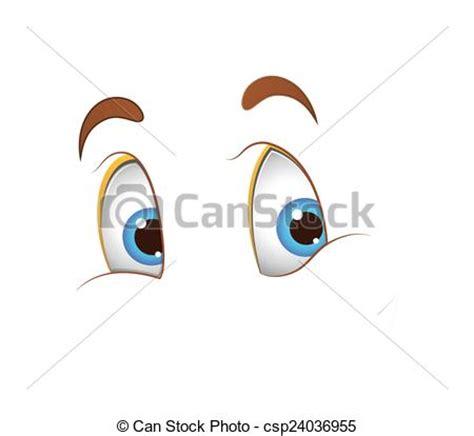 imagenes ojos alegres clipart vectorial de lindo ojos caricatura inocente