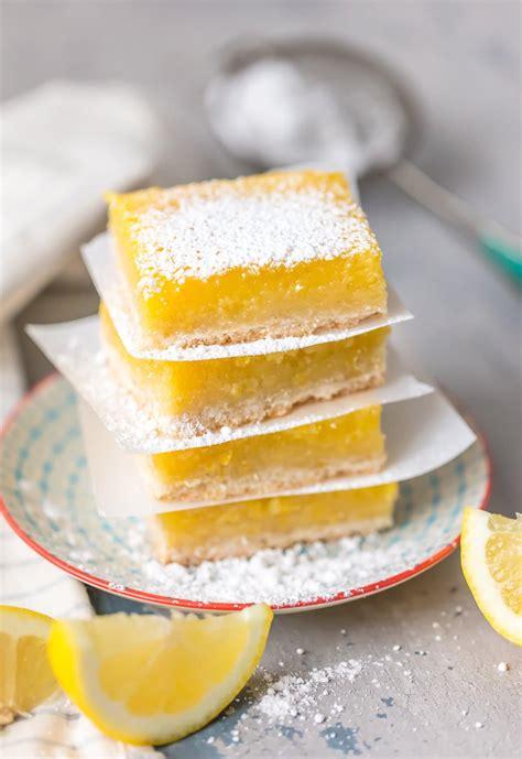 BEST Lemon Bars Recipe - Gluten Free! [VIDEO!] - The ... Lemon Dessert Bars