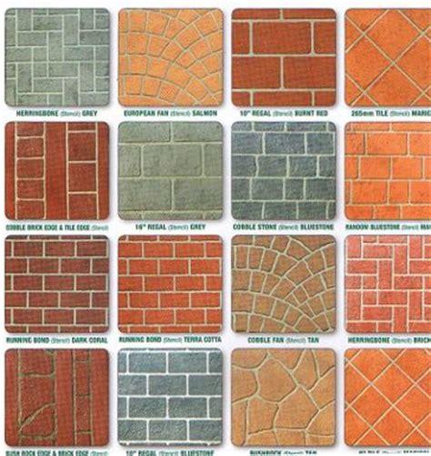 concrete templates stencils prestige pattern paving s stenciled concrete