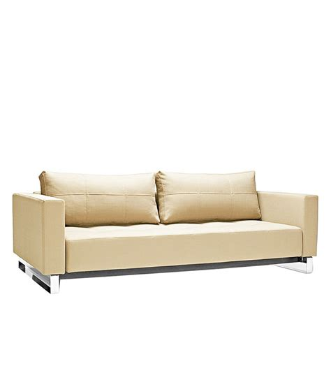 steel sofa come bed price the elegance sofa cum bed in beige available at snapdeal