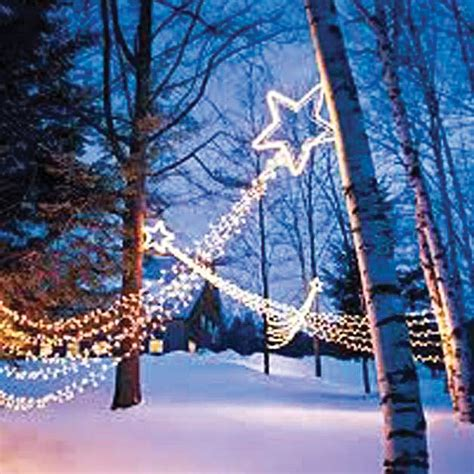 shooting star christmas party string light 20 feet