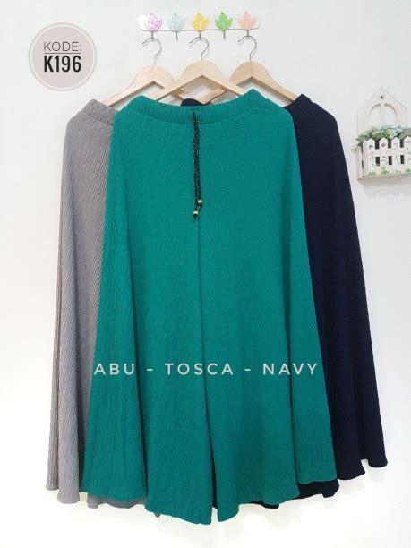 model baju babat celana kulot babat k196 baju hijab style ootd