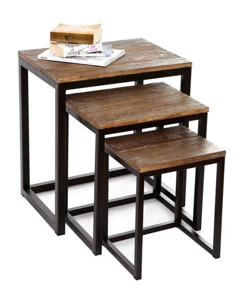 table gigogne bois pas cher wraste