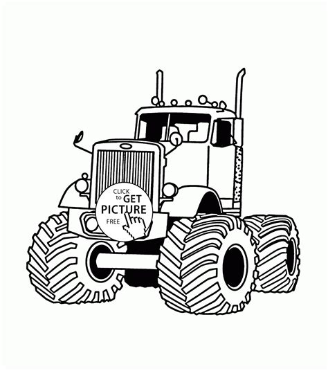 monster trucks kids video pin grave digger coloring pages on pinterest