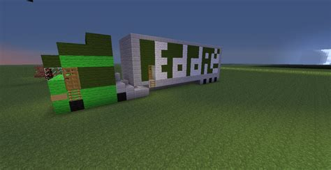 minecraft truck eddie stobart truck lorry minecraft project