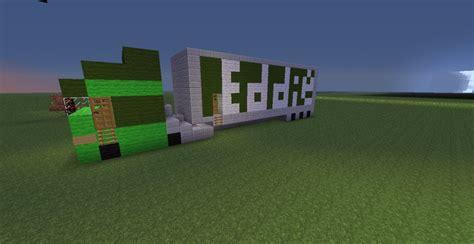 minecraft truck eddie stobart truck lorry minecraft project