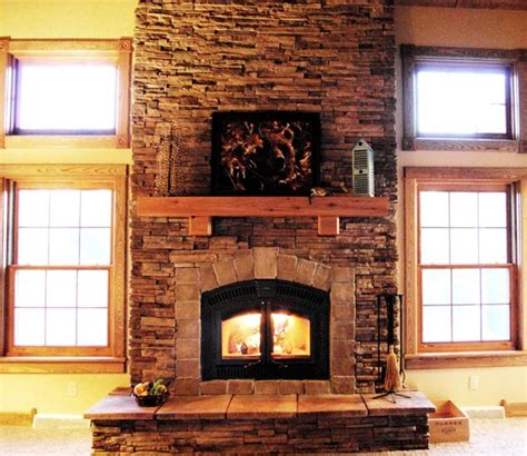 fireplace building materials create a rustic style on your fireplace with cedar mantels