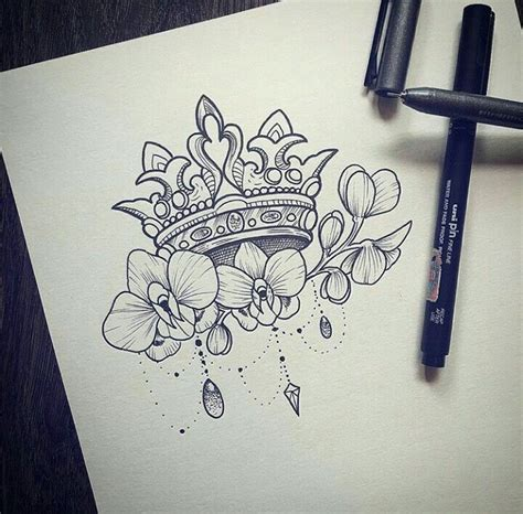 queens crown tattoo best 25 crown tattoos ideas only on