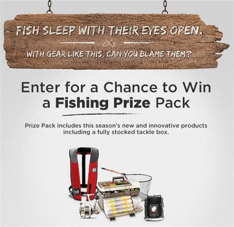 Free Fishing Tackle Giveaway - canadian tire contest win a free fishing prize pack and fully stocked tackle box