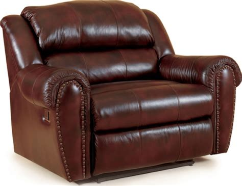 lane leather recliner lane home furnishings summerlin oversized faux leather