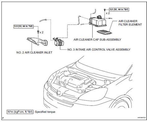 car maintenance manuals 2000 toyota sienna engine control toyota sienna service manual intake air control valve 2gr fe intake engine