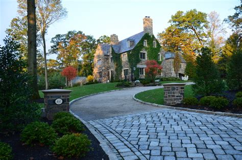 harmony home design group tudor revival landscape new york by harmony design group