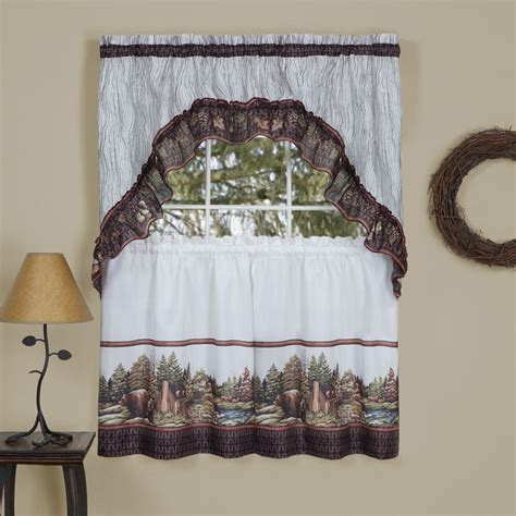 cheap swag curtains cheap window curtains woodlands tier swag set wholesale