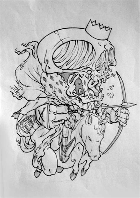 apocalypse tattoo designs one of the four horsemen of the apocalypse awesome