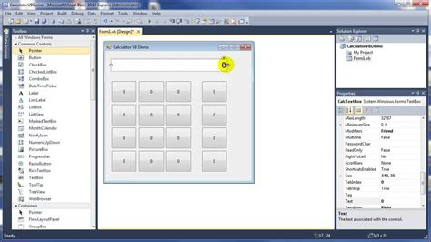 design pattern vb net part 1 how to create calculator in vb net design ui