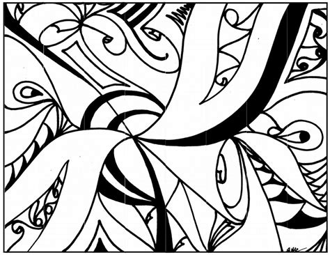 printable coloring pages abstract abstract coloring pages printable