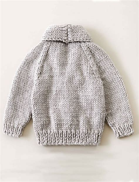 knitted collar pattern yarnspirations bernat shawl collar cardigan