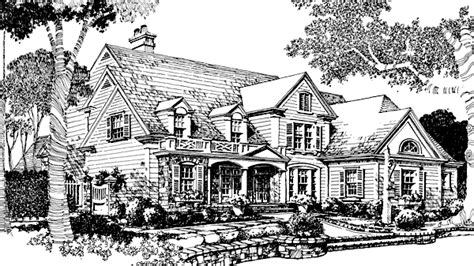 Rosewalk Cottage Spitzmiller And Norris Inc Sunset House Plans