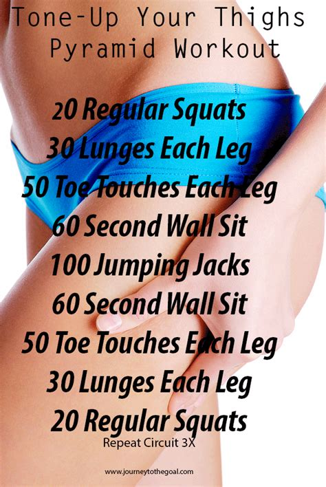 tone up your thighs summer ready workout motives