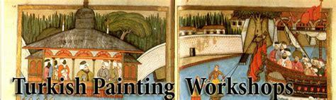 traditional turkish miniature paintings workshopturkish